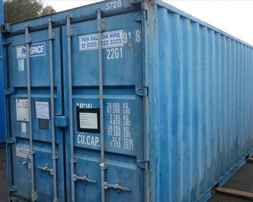 20ft x 8ft Ex Hire Shipping Container