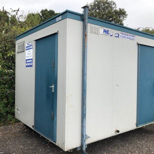 2+1 Plastisol Jackleg Toilet Block – HF 3242