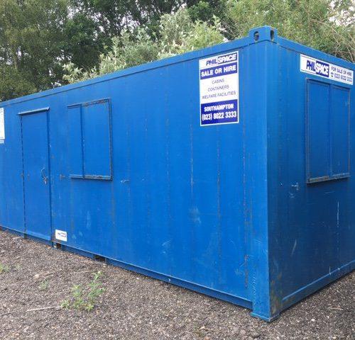 21ft x 8ft Anti Vandal Canteen – HF 3602