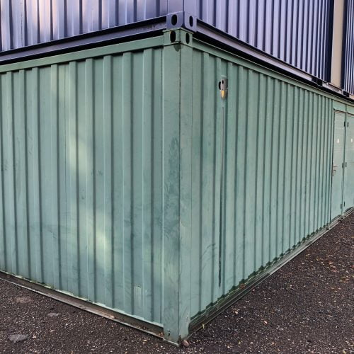 32′ x 10′ AV Toilet/Shower block (male & female) – HF 4919