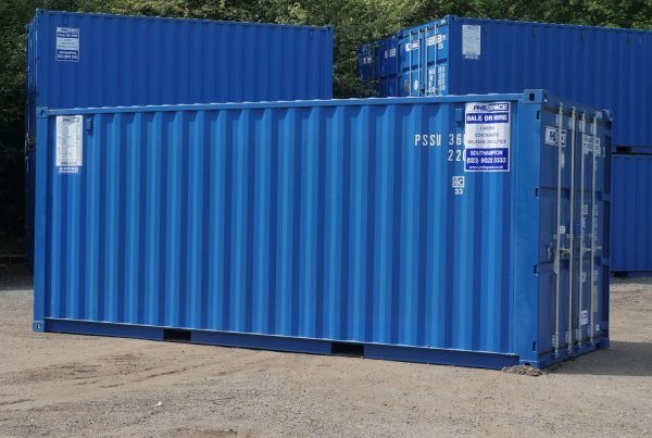 Types of shipping containers - Standard shipping container