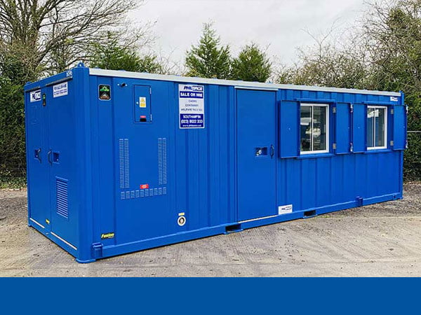 Welfare unit for temporary site accommodation