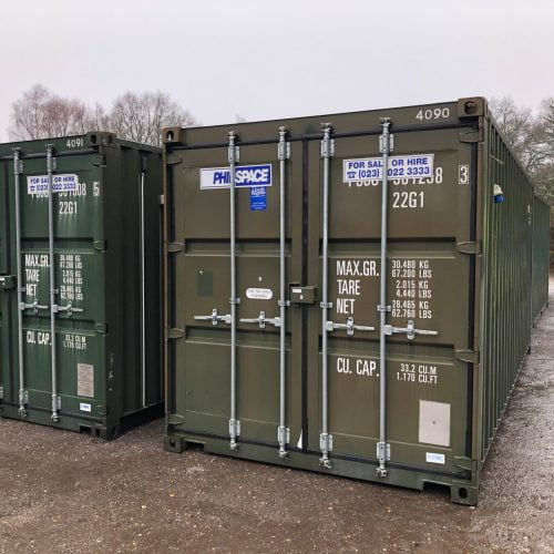 20ft x 8ft Container Lined & Insulated c/w electrics – HF 4091