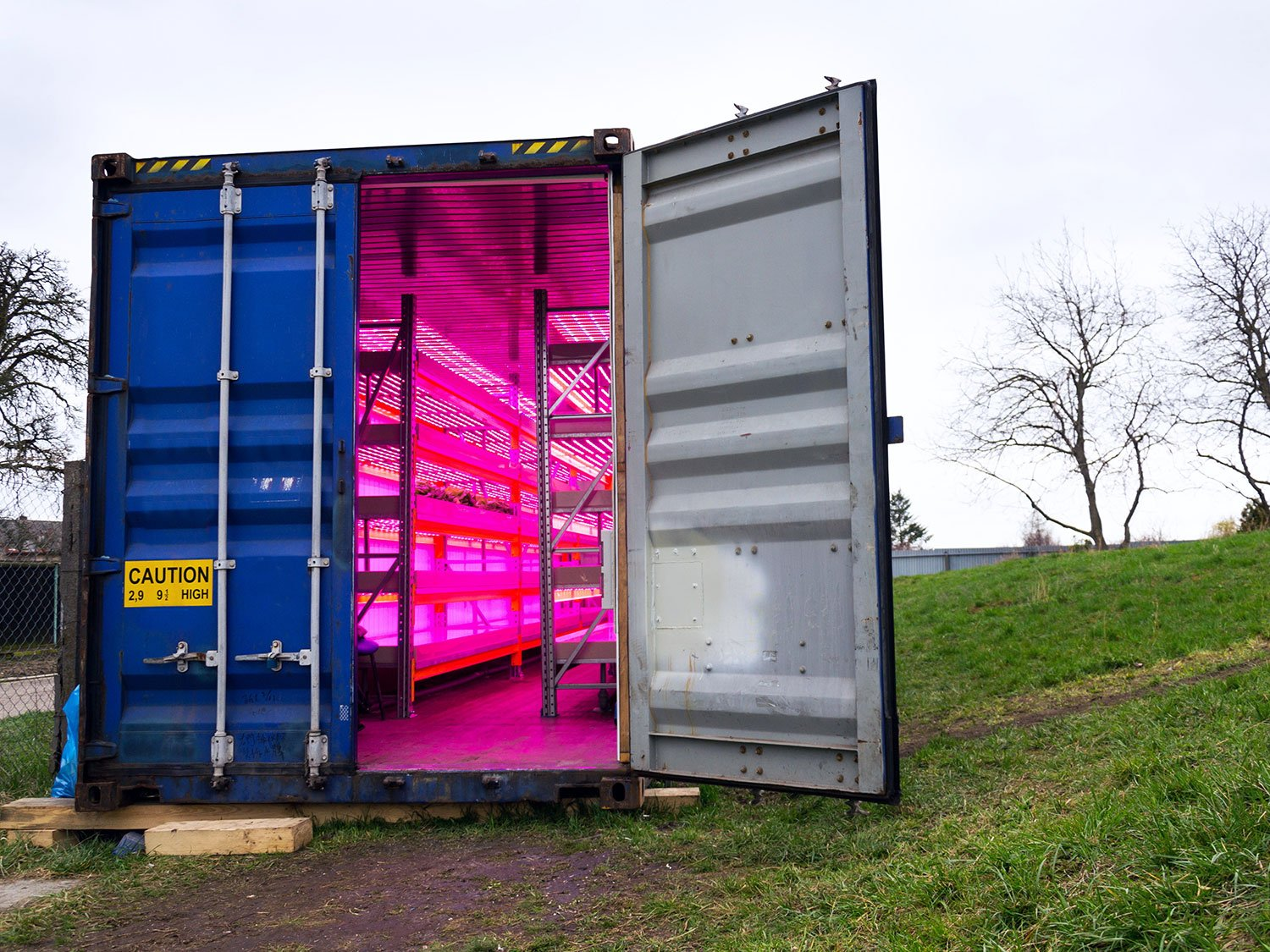 SHIPPING CONTAINER FARMS: A NEW TYPE OF AGRICULTURE?