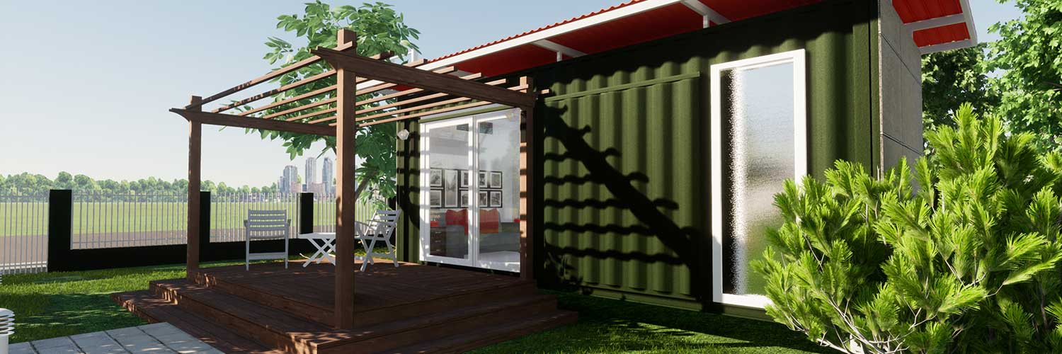 HOW CAN YOU USE SHIPPING CONTAINERS IN YOUR GARDEN?