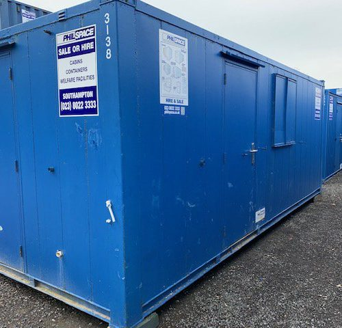21ft Combi Welfare unit
