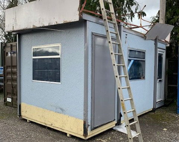16ft jackleg office for sale