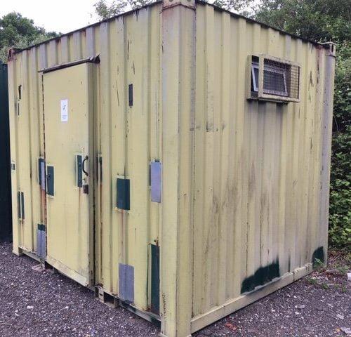 10ft x 8ft Toilet/Shower Block