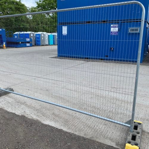 Used Ex Hire Temporary Fencing
